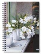 Tazza E Oleandro Spiral Notebook