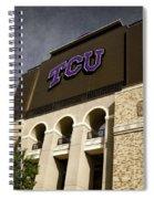 Tcu Stadium Entrance Spiral Notebook