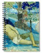 Te Arii Vahine .the Queen Of Beauty Or The Noble Queen. Spiral Notebook