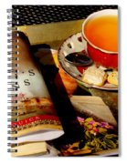 Tea And A Read Spiral Notebook