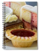 Tea Cakes Spiral Notebook
