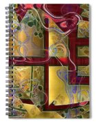 Tea Ceremony Spiral Notebook