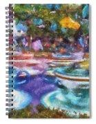 Tea Cup Ride Fantasyland Disneyland Pa 02 Spiral Notebook