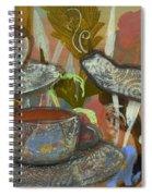 Tea For Three Spiral Notebook