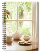 Tea For Two Spiral Notebook
