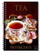 Tea Gallery Spiral Notebook