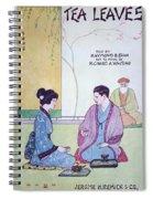 Tea Leaves Spiral Notebook