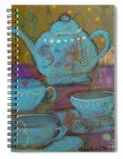 Tea Spot Spiral Notebook