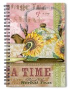 Tea Time-jp2579 Spiral Notebook