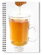 Tea With Honey Spiral Notebook