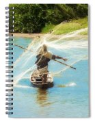 Teach A Man To Fish Spiral Notebook