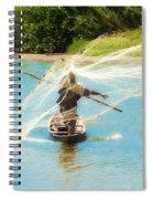 Teach A Man To Fish Spiral Notebook