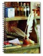 Teacher - School Supplies In General Store Spiral Notebook