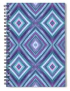 Teal Diamond Dreams Spiral Notebook