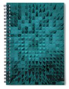 Teal Quilt Spiral Notebook
