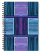 Teal Square Dreams Spiral Notebook