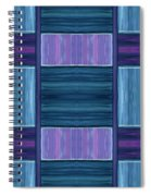 Teal Square Dreams Two Spiral Notebook