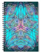 Teal Starfish Spiral Notebook