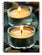 Tealights Spiral Notebook