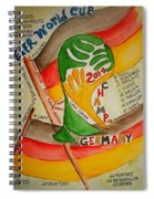 Team Germany Fifa Champions Spiral Notebook