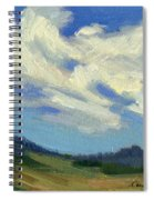 Teanaway Passing Clouds Spiral Notebook