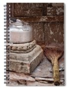 Teapot And Broom Spiral Notebook