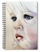 Tear Stains Spiral Notebook