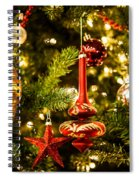 Teardrop Star Spiral Notebook
