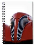 Teardrops Spiral Notebook