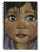 Ebony's Tears Spiral Notebook
