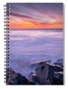 Technicolor Dusk Spiral Notebook