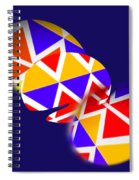 Tectonic Spiral Notebook