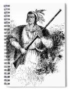 Tecumseh, Shawnee Indian Leader Spiral Notebook