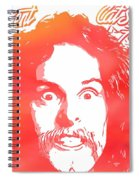 Ted Nugent Cat Scratch Fever Spiral Notebook