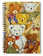 Ted Patch Spiral Notebook