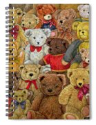 Ted Spread Spiral Notebook