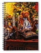 Teddy And Friends Spiral Notebook