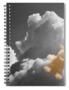 Teddy Bear Cloud Spiral Notebook