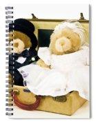 Teddy Bear Honeymoon Spiral Notebook