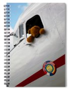 Teddy Bear Pilot Spiral Notebook