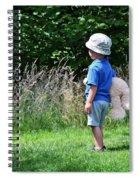 Teddy Bear Walk Spiral Notebook