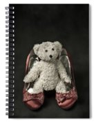 Teddy In Pumps Spiral Notebook