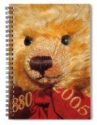 Teddy's Anniversary Spiral Notebook