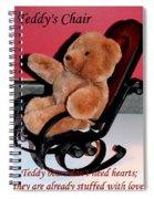 Teddy's Chair - Toy - Children Spiral Notebook