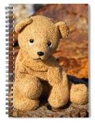 Ted's On The Rust Pile 2 Spiral Notebook