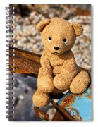 Ted's On The Rust Pile Spiral Notebook