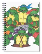 Teenage Mutant Ninja Turtles  Spiral Notebook