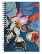 Teens In Converse Tennies Spiral Notebook