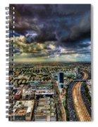 Tel Aviv Blade Runner Spiral Notebook