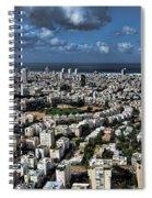 Tel Aviv Center Spiral Notebook